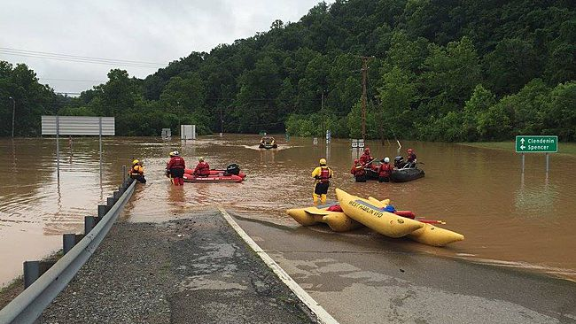 Catastrophic Flooding Kills Nearly Two Dozen in West ...